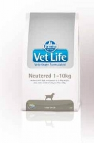 Vet Life Dog Neutered 1-10 кг.