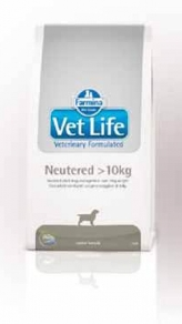 Vet Life Dog Neutered > 10 кг.